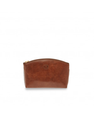 Necessaire Semplice 1 zip | The Bridge Story Viaggio | 09121301-Marrone/Oro