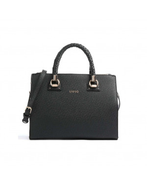 Borsa Donna a Mano Media Liu Jo Nero AA1171E008722222 Valigeria.it