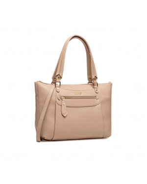 Borsa Donna Shopping Grande Liu Jo Beige AA1099E002761310 Valigeria.it