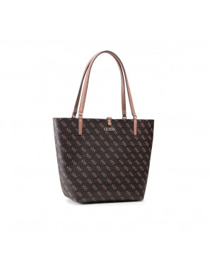 Borsa Donna Shopping Guess Marrone HWQL7455230 Valigeria.it