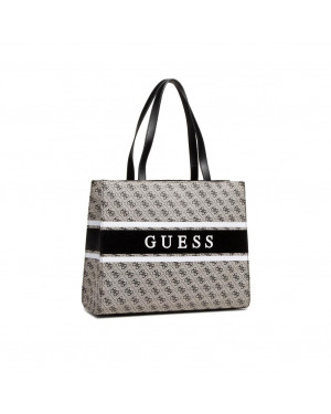 Borsa Donna Shopping Guess Monique Grigio Valigeria.it