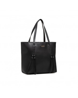 Borsa Donna Shopping Liu Jo Nero AA1001E003122222 Valigeria.it