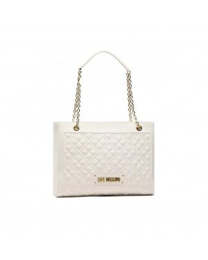 Borsa Donna Shopping Love Moschino Bianco JC4006PP1CLA0100 Valigeria.it