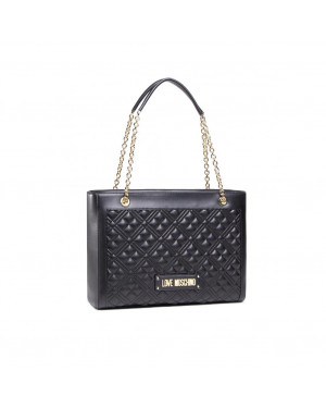 Borsa Donna Shopping Love Moschino Nero JC4006PP1CLA0000 Valigeria.it