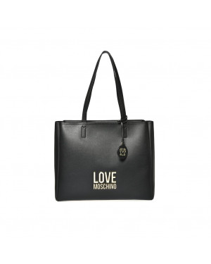 Borsa Donna Shopping Love Moschino Nero JC4100PP1CLJ000A Valigeria.it