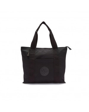 Borsa Donna Shopping Media Era Kipling Nero | Valigeria.it