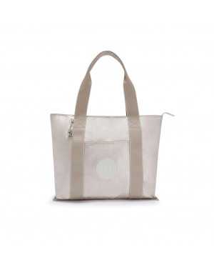 Borsa Donna Shopping Media Era Kipling Oro Valigeria.it