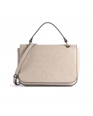Borsa Donna Tracolla Armani Exchange Beige Valigeria.it