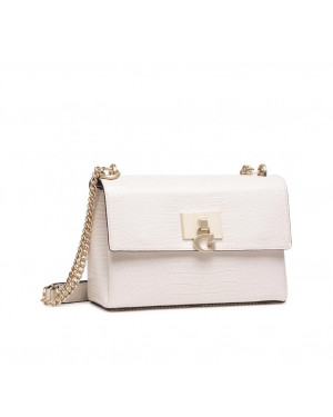 Borsa Donna Tracolla Carabel Flap Guess Taupe Valigeria.it