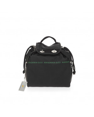 Borsa Donna Zainetto Mandarina Duck Black Valigeria.it