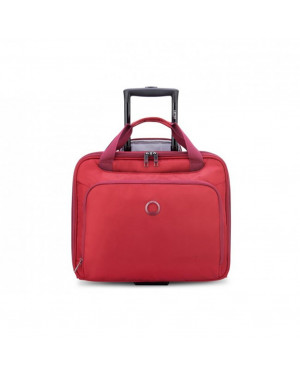 Pilota Trolley Cabina Delsey Rosso 00394240904 Valigeria.it