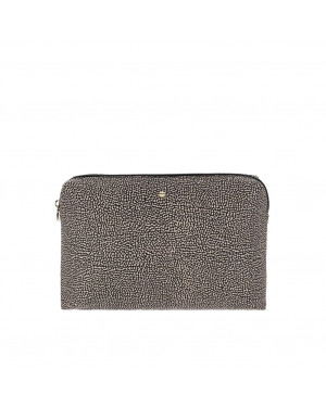 Pochette Borbonese Marrone 930120I15X11 Valigeria.it