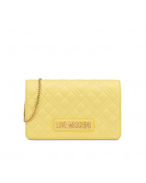 Pochette Trapuntata Love Moschino Giallo JC4079PP1CLA2400 Valigeria.it