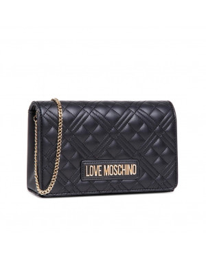 Pochette Trapuntata Love Moschino Nero JC4079PP1CLA2000 Valigeria.it