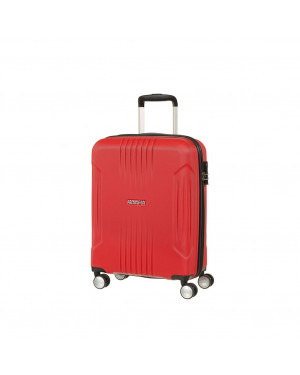 Trolley Cabina 55 Cm Spinner 4 Ruote | American Tourister Tracklite | 34G001-Flame Red