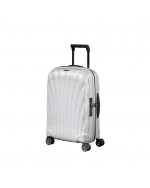 Trolley Rigido Cabina Samsonite Bianco CS2007 Valigeria.it