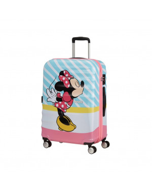 Trolley Rigido Medio American Tourister Wavebreaker Disney 31C004 Valigeria.it