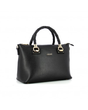 Borsa Donna Bauletto Liu Jo Nero AA1052E008722222 Valigeria.it
