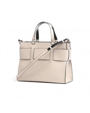 Borsa Donna Shopping Armani Exchange Beige Valigeria.it