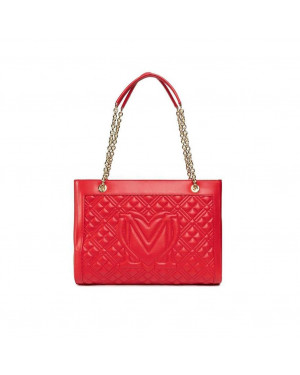 Borsa Donna Shopping Love Moschino Rosso JC4006PP1CLA0500 Valigeria.it