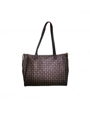 Borsa Donna Shopping Pollini Heritage Nero Valigeria.it