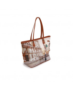 Borsa Donna Shopping YesBag Ynot Sauvage Valigeria.it