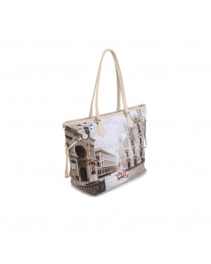 Borsa Donna Shopping Ynot Milano Classic Valigeria.it