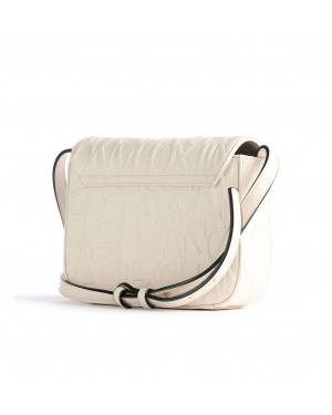 Borsa Donna Tracolla Armani Exchange Bianco Valigeria.it