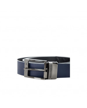 Cintura Uomo Reversibile Armani Exchange Blu Valigeria.it
