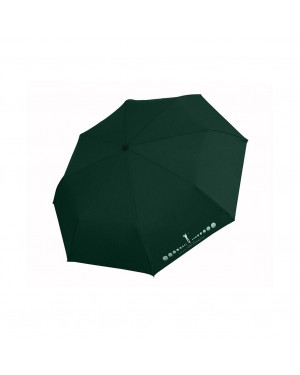 Ombrello Unisex Mini H.Due.O H614-Dark Green Valigeria.it