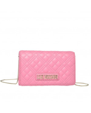 Pochette Love Moschino Rosa | Valigeria.it