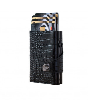 Porta Carte Credito Doppio Tru Virtu Click & Slide Double Wallet 27104000208 Valigeria.it