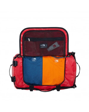 Borsone 2 Manici a Bauletto | The North Face Base Camp Duffel | T93ETO-Rosso/Nero