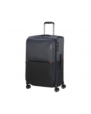 Trolley Morbido Medio Samsonite Rythum Blu KC3002 Valigeria.it