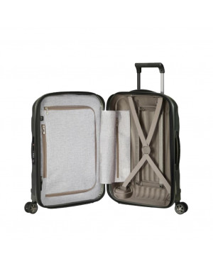 Trolley Rigido Cabina Samsonite Grigio CS2007 Valigeria.it