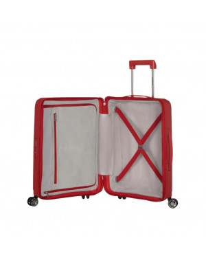 Trolley Rigido Cabina Samsonite Rosso KD8001 Valigeria.it