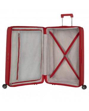 Trolley Rigido Grande Samsonite Rosso Valigeria.itTrolley Rigido Grande Samsonite Rosso Valigeria.it